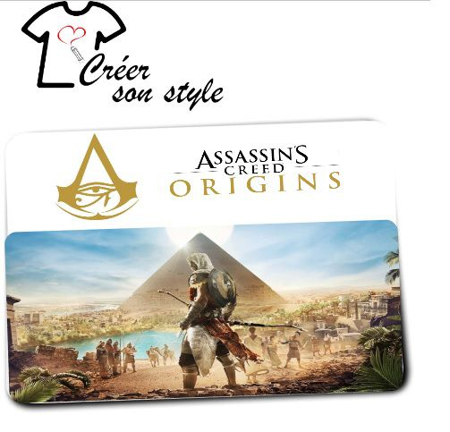 "Tapis de souris ""assassin's creed"""