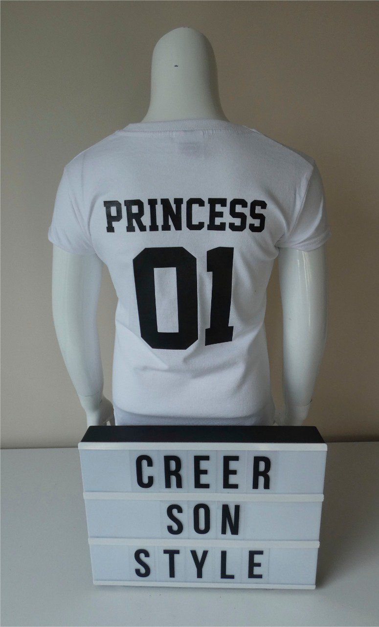 "tee shirt ""princess"""