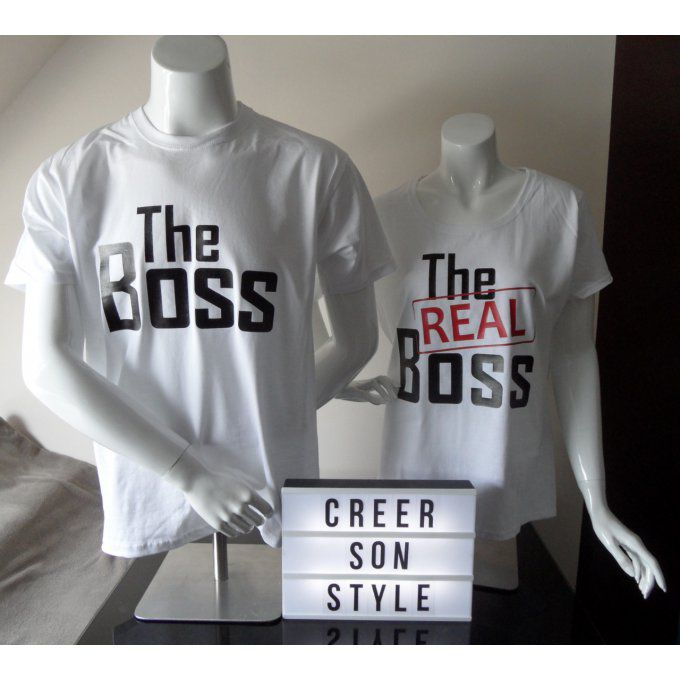 "Duo ""The boss - The real boss"""