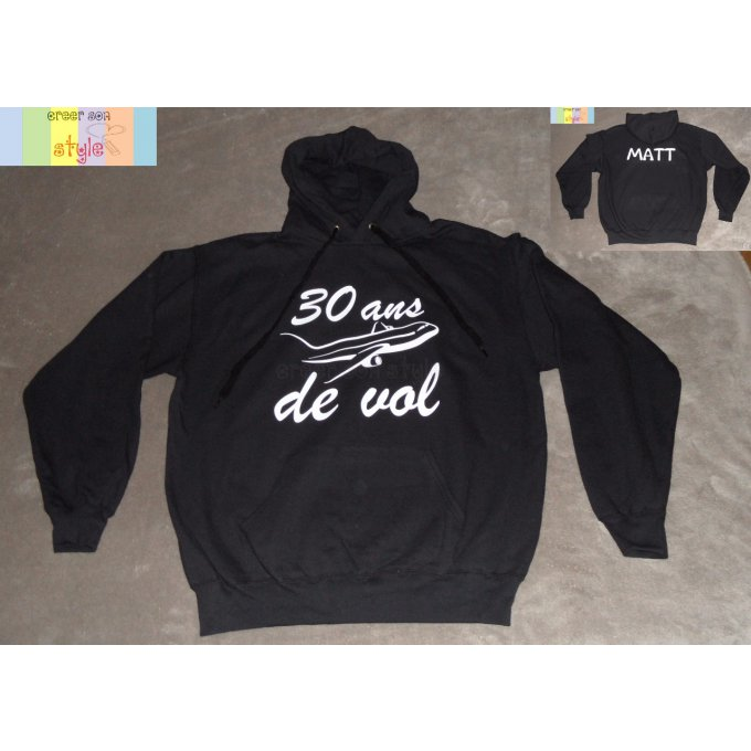 "Sweat-shirt ""30 ans de vol"""