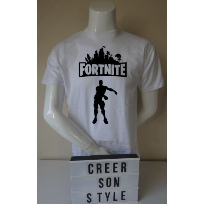 "tee shirt ""fortnite"" (modèle 1)"