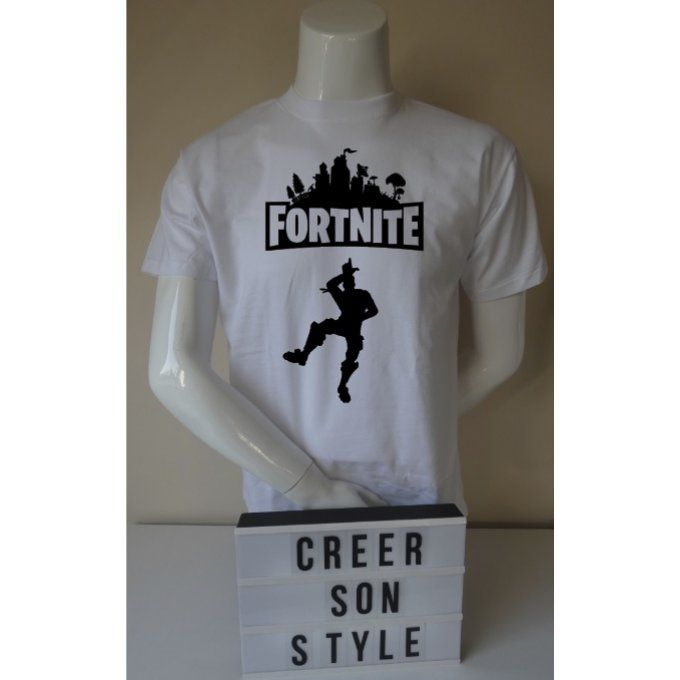 "tee shirt ""fortnite"" (modèle 2)"